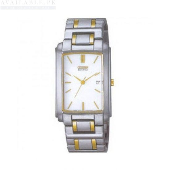 Citizen Stainless Steel Men's Watch BW0114-50A - Two Tone