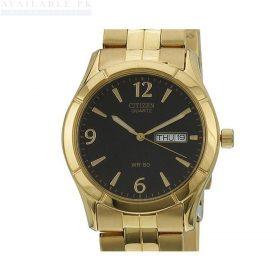 Citizen Stainless Steel Men's Watch BK3832-63E - Gold