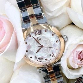 GC Guess Spark Rose Gold Dual Tone Her Watch Price In Pakistan
