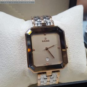 Rado Florence Dual Tone Light Brown Dial With Date Men's Watch Price In Pakistan