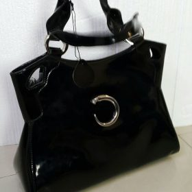 Genuine Chanel Women's Tote Handbag Black Leather In Pakistan