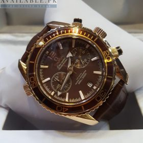 Omega SeaMaster Professional Brown & Golden His Watch Price In Pakistan