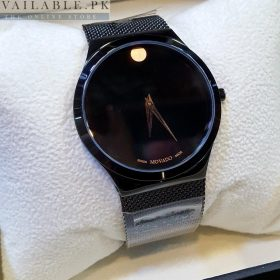 Movado Bold Titanium Black Men's Watch Price In Pakistan