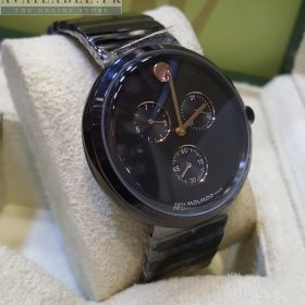 Movado Deep Black Chronograph Men's Watch Price In Pakistan