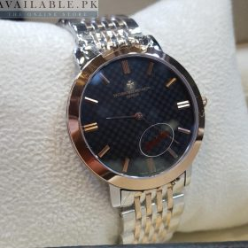 VACHERON Black Dial Dual Tone Men's Watch Price In Pakistan