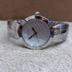 Bvlgari Spark Glitter Chrome Stainless Steel Women Watch Price In Pakistan