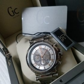 Guess Chronograph Pure Chrome Metal Copper Digits Watch Price In Pakistan