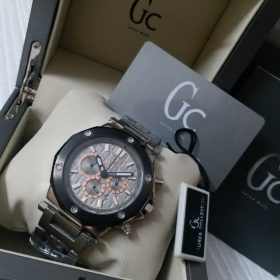 Guess Chronograph Silver & Black Bezel Watch Price In Pakistan