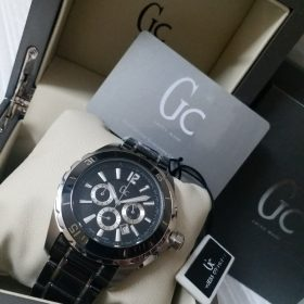Guess Black & Silver Chronograph Men Watch Price In Pakistan