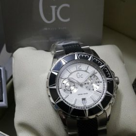 Guess GC Chronometer Black & Silver Men Watch Price In Pakistan
