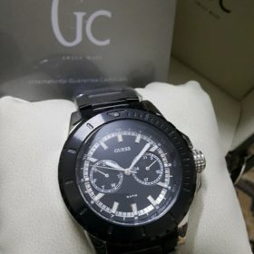 Guess Gc Satm Deep Black Chronometer Men Watch Price In Pakistan