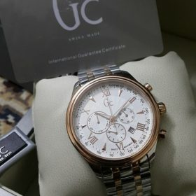 Guess Gc Classica White Dial Chronograph Men Watch Price In Pakistan