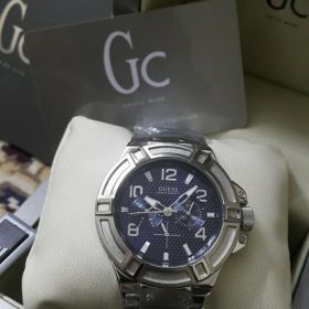 Guess Gc Silver Rigor Stainless Steel Men Watch Price In Pakistan