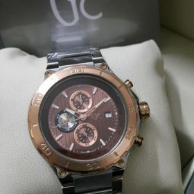 Guess Gc Sport Class XXL Brown Chronograph Men Watch Price In Pakistan