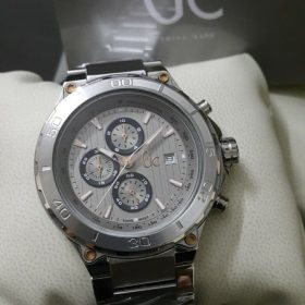 Guess Gc Sport Class Silver XXL TachyMeter Men Watch Price In Pakistan