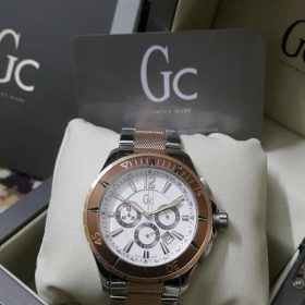 Guess Gc Sport Class Copper Silver XXL Men Watch Price In Pakistan
