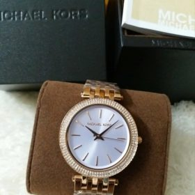 Michael Kors Women's Darci Silver Dial Watch Price In Pakistan