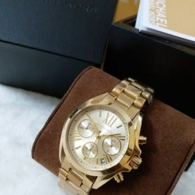 Michael Kors Cream Dial Golden Men's Watch MK-5798 Price In Pakistan