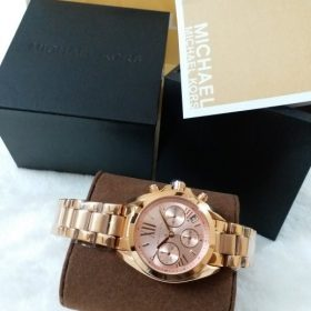 Michael Kors Rose Gold & Golden Watch MK-5799 Price In Pakistan