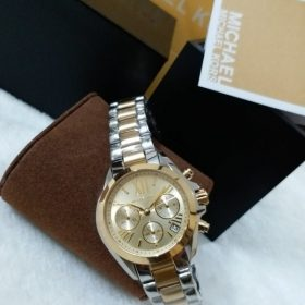 Michael Kors Pearl Gold Dial Dual Tone Watch MK-5974 Price In Pakistan