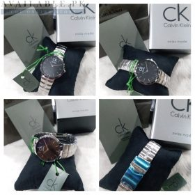 Calvin Klein Minimal Whirl Black Dial Her Watch Price In Pakistan