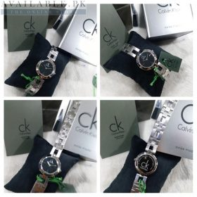 Calvin Klein Dainty Classic Black & Silver Her Watch Price In Pakistan