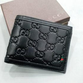 Gucci Black With All Over Embossed Logo Wallet Price in Pakistan