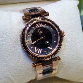 GC Guess Vista Blue Golden Tone His Watch Price In Pakistan