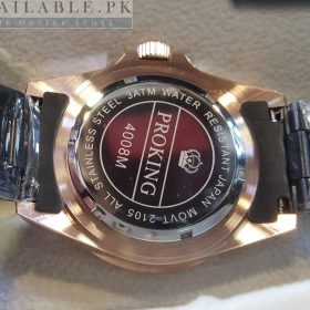 ProKing Date Just Copper Tone Black Dial Price In Pakistan