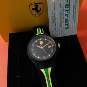 Ferrari Scuderia Black Dial Sports Men Watch Watch In Pakistan