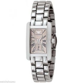Armani AR0172 Ladies Pink Dial Watch