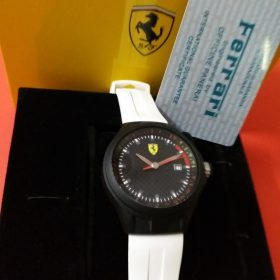 Ferrari Scuderia White & Black Men Watch Price In Pakistan