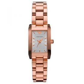 ARMANI AR0361 LADIES ROSE GOLD STEEL