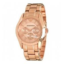 Emporio Armani AR0365 Stainless Steel Strap – Rose Gold