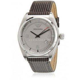 Emporio Armani Classic Analog White Dial Watch - AR0366