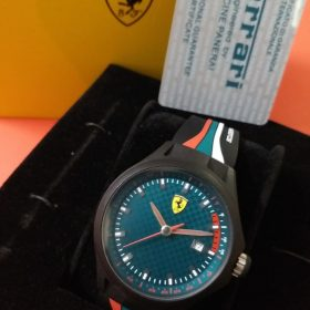 Ferrari Scuderia Green Dial Sports Men Watch Watch In Pakistan
