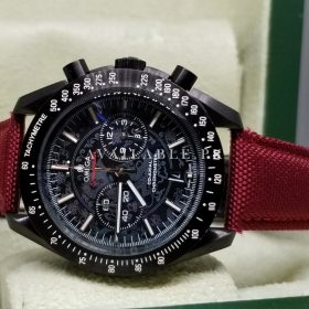 Omega Seamaster Chronometer Red Nylon Strap His Watch Price In Pakistan