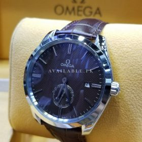 Omega Sea Master Brown Dial Swiss Automatic With Date & Down Run Second Watch Price In Pakistan
