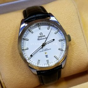 Omega Globe Master Swiss Automatic White Dial Date Display Men's Watch Price In Pakistan