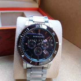 Burberry Limited Edition Grey Metalic Men's Watch Price In Pakistan