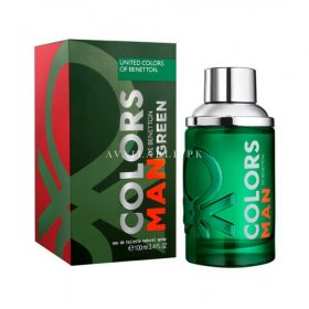 Benetton Colors Man Green Perfume For Men 100ml Price in Pakistan