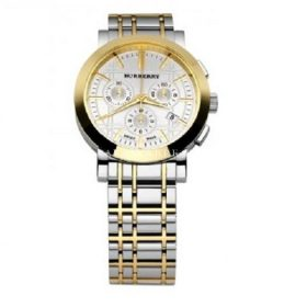 Mens Watch Burberry BU1374 Two Tone Stainless Stee