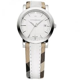 Burberry Women Stainless Steel and Leather Casual Watch BU1379