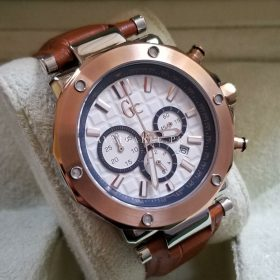 GC Rose Gold Bezel Chronograph Mens Watch Price In Pakistan