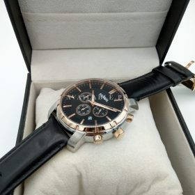 Fossil BQ1281 Rose Gold Silver Black Men Watch Price In Pakistan