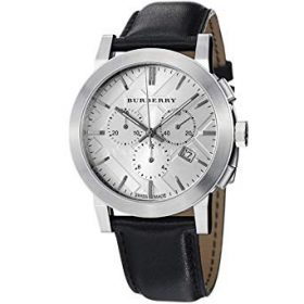 Burberry Women's Large Check Stainless Steel Watch BU9355
