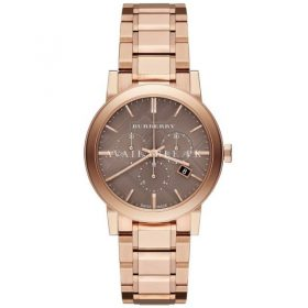 BU9754 Burberry The City Rose Gold-Tone Unisex Watch