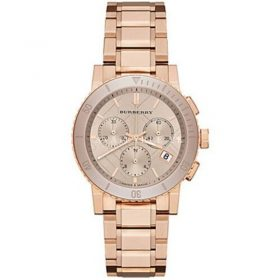 Burberry Womens Dial Colour Gold Watch BU9703