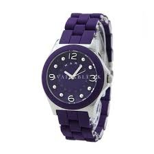 Marc By Marc Jacobs MBM2538 Purple With Silver Watch