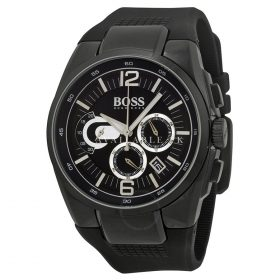 Hugo Boss Men Watch Chronograph Black 1512736